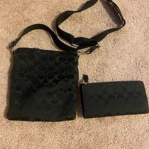 Coach Bags - Coach Crossbody Wallet + Purse